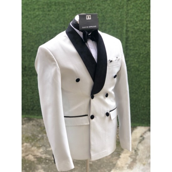 Ivory Double Breast Tuxedo