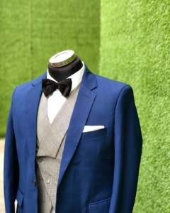 DavidOpkins Blue English Groom